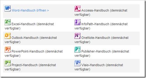 Interaktive Befehlssuche für Office 2010