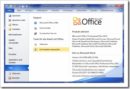 Microsoft Word Version 14.0.4760.1000 (32-Bit)