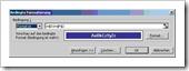 Excel 2003:  Menü – Format – bedingte Formatierung