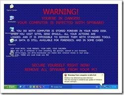 """Ein mit dem """"System Tool 2011"""" Virus befallenes Windows XP"""