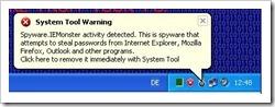Vermeintlich wird die Spyware.IEMonster gefunden