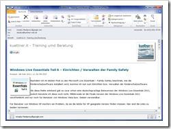 Artikel als Newsletter per eMail
