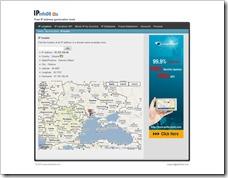 Lokalisieren des Servers mit IPInfoDB.com