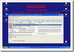 """Starteinträge der """"System Tool 2011"""" und des Trojaners in SysInternals AutoRuns"""
