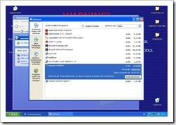 """Eintrag zur Deinstallation des """"System Tool 2011"""""""