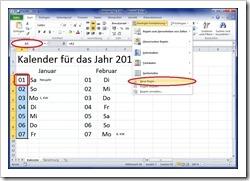 """""""Bedingte Formatierung"""" - """"Neue Regel .."""""""