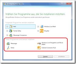 Update für die Windows Live Essentials für Windows 7