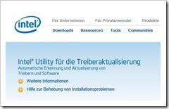 Intel® Utility für die Treiberaktualisierung