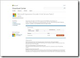 Microsoft Expression Encoder 4 mit Service Pack 2