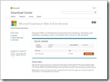 Microsoft Expression Web 4.0 mit Service Pack 2